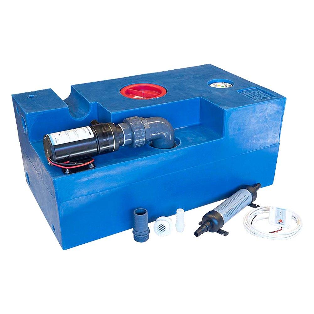 Albin Pump Marine 174 03 02 010 Cpl Waste Water Tank