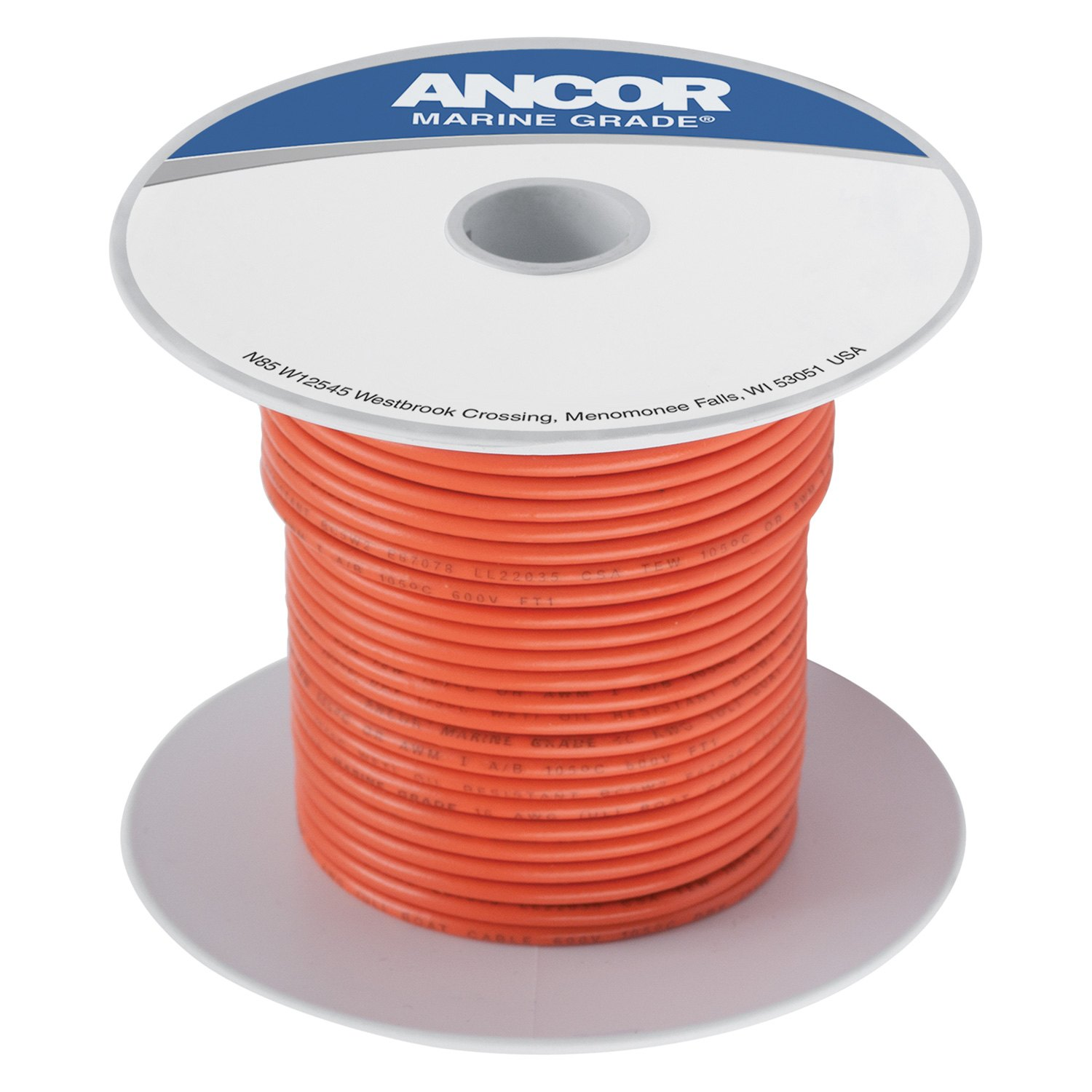 Ancor Tinned Copper Wire Electrical Green Wireancor 18 Awg 250 100 Gray