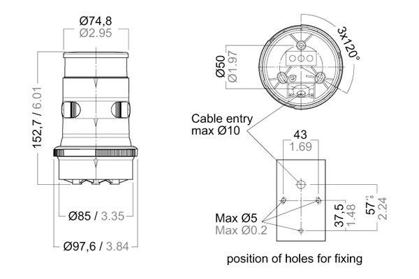 masthead light wiring diagram aqua signal   34410 7 34 series led 12 v 24 v    masthead     aqua signal   34410 7 34 series led 12 v 24 v    masthead