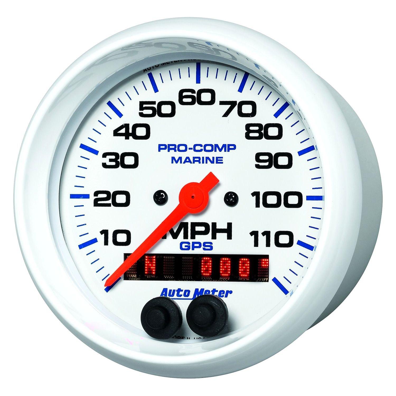 Auto Meter® 200637 - Marine 3-3/8