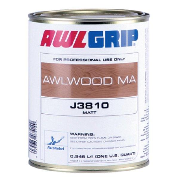 Awlgrip north america oj3810 1qtus awlwood ma 1 qt - Clear matt varnish for exterior wood ...