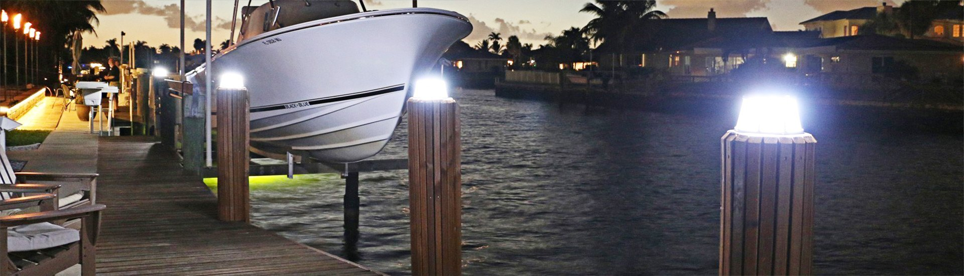 Dock Lighting Solar Led Underwater Lights Boatid