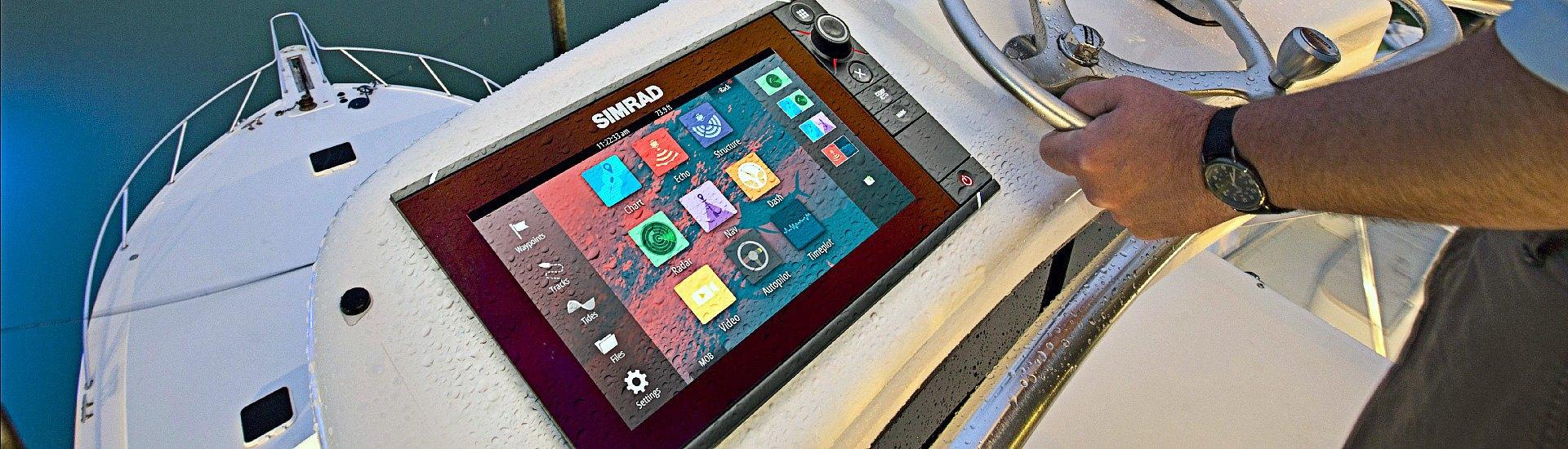 Marine Multifunction Displays & Combos | Keypads, Remotes