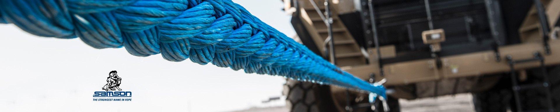 "Samson rope 5//8/"" 150ft slightly used Blue rope."