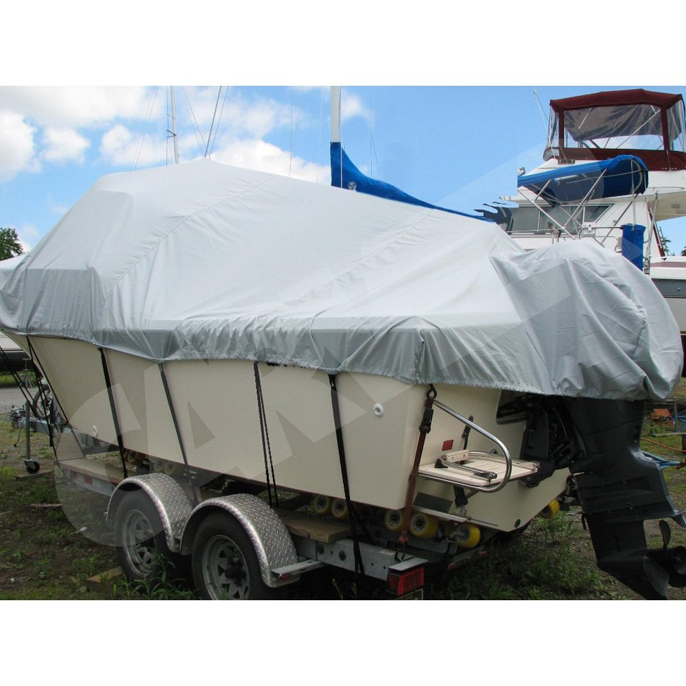 Walk Around Cuddy Cabin Boat With Hard