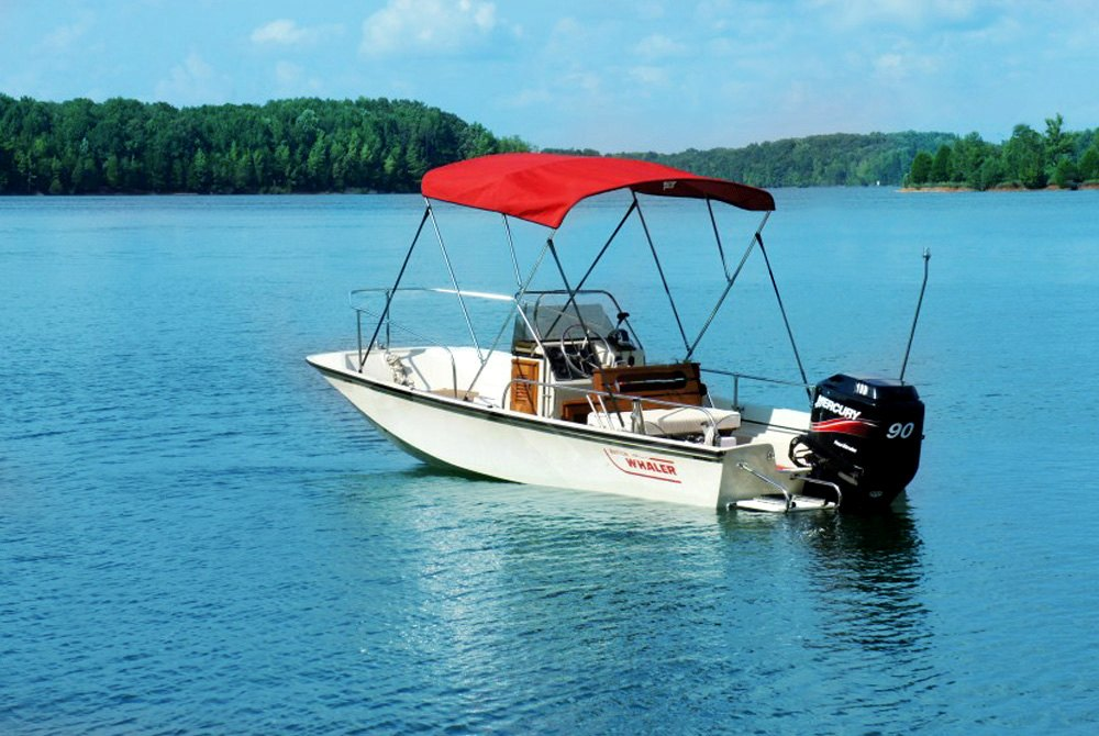 """BIMINI TOP BOAT COVER CANVAS FABRIC BURGUNDY W//BOOT FITS 3BOW 72/""""L 54/""""H 73/""""-78/""""W"""