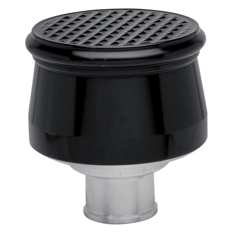 Eddie Marine® 108-87MB - Diamond Hatch Cut Top Push-In Valve Cover Breather