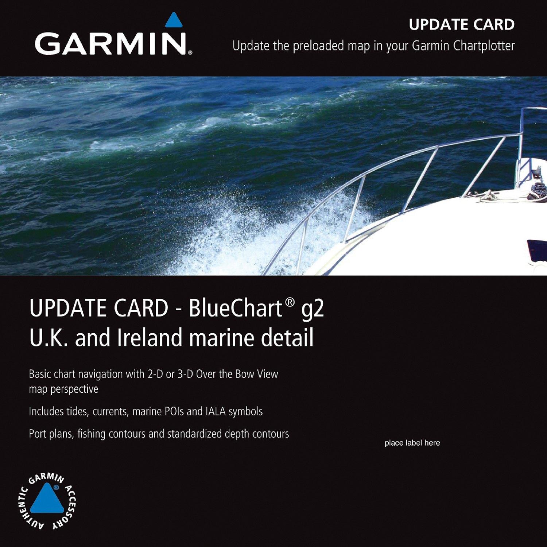 Garmin® 010-10800-70 - BlueChart™ g2 UK/Ireland microSD Format Electronic  Chart Update