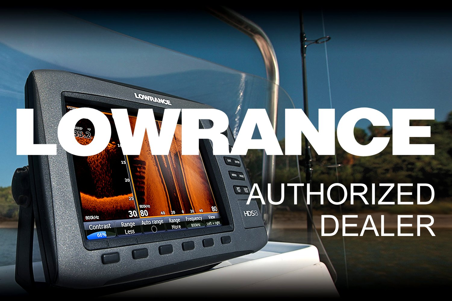 Lowrance® 000-14561-001 - Airmar xSonic B285M Bronze External Thru-hull  Mount Transducer with 30' Cable