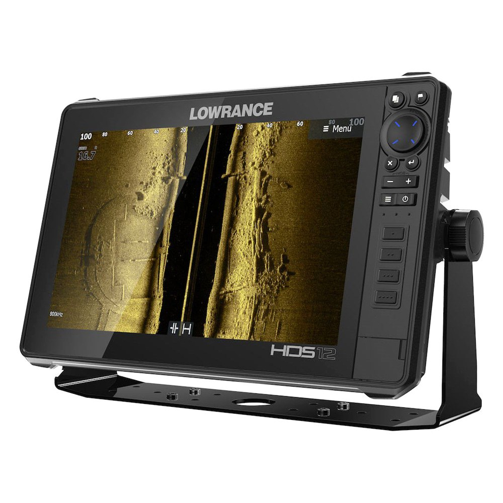 Lowrance Depth Finder >> Lowrance 000 14427 001 Hds Live 12 12 Fish Finder Chartplotter With Basemap W O Transducer