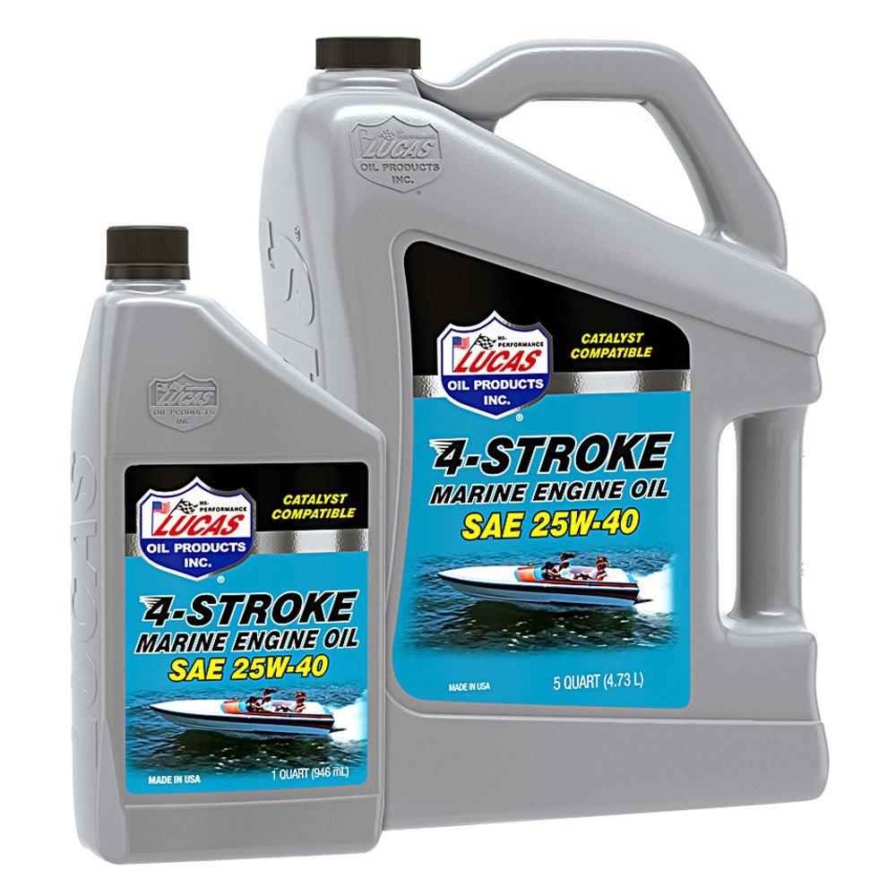 Lucas Oil 174 Stern Drive 25w 40 Inboard Engine Oil