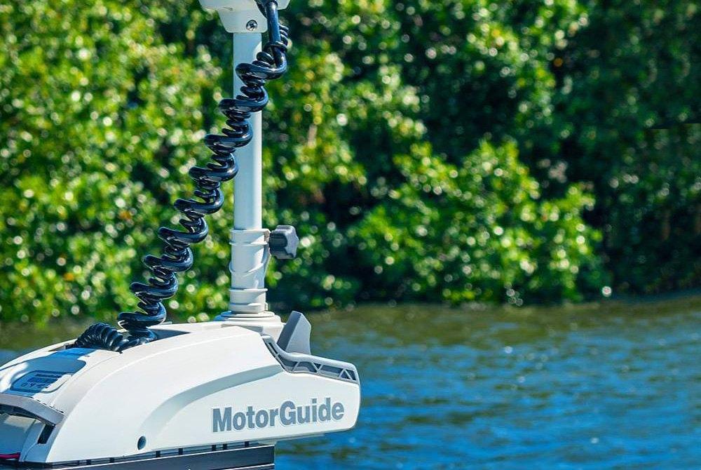 MotorGuide™ | Trolling Motors, Foot Pedals, Plugs, Boat