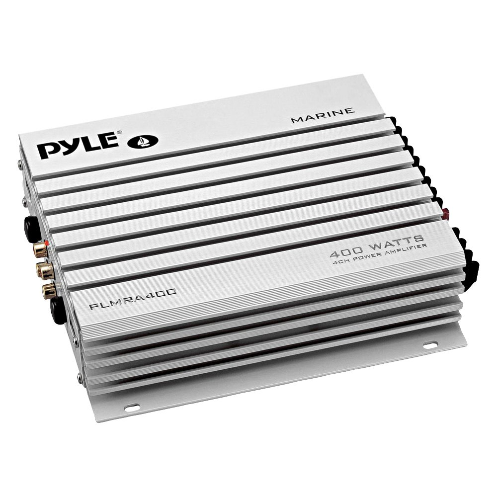 Pyle® PLMRA400 - 400W 4-Channel Class AB Amplifier
