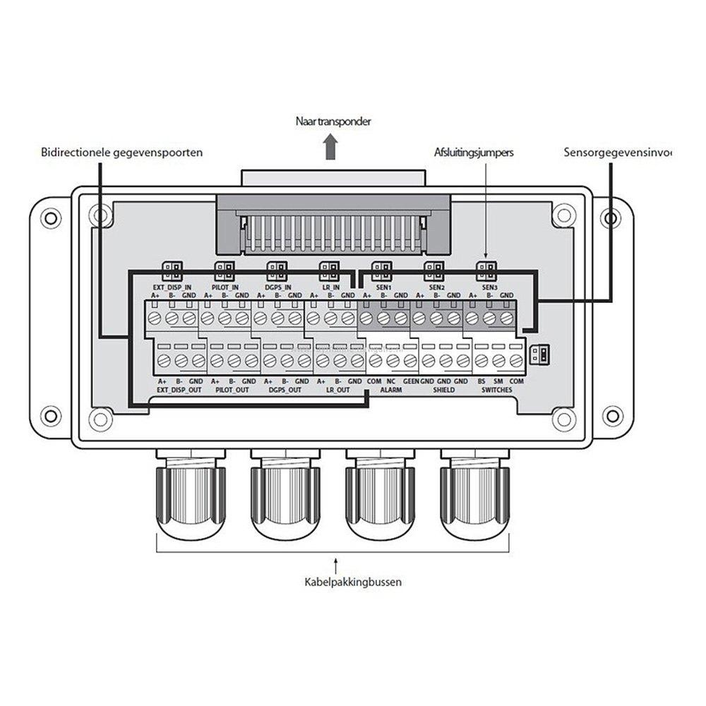 Raymarine® E70050 - AIS950 Class A AIS Transceiver