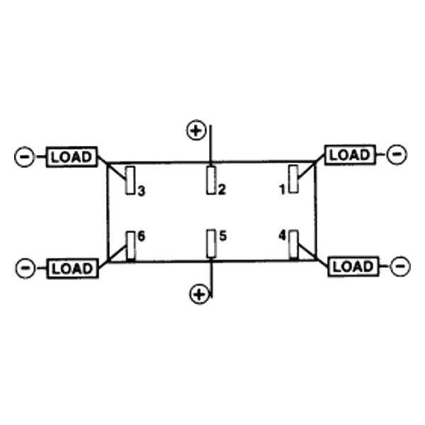 sierra u00ae rk19240 - switch contura v  on   off   on  dpdt
