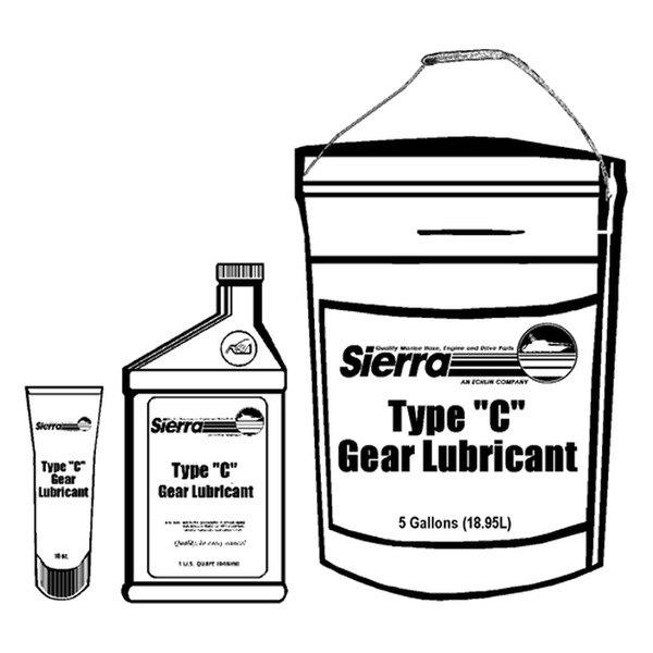 sierra u00ae 18-9620-2 - type  u0026quot c u0026quot  1 qt  gear lube