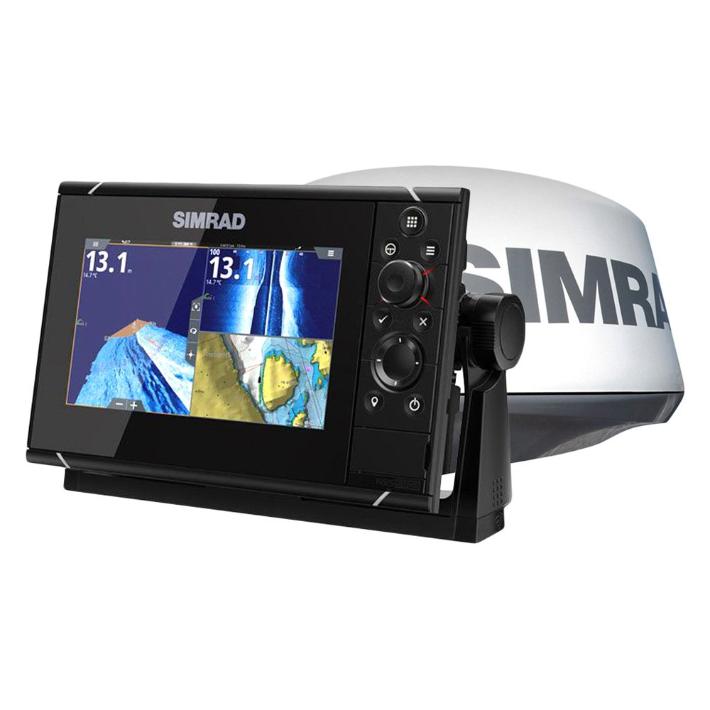 Simrad Nss Evo³ 7 Multifunction Display With C Map Insight