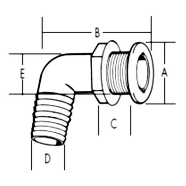"TH Marine EZ Pump™ Water Pick-Up System White 4-3//4/"" Long EZ-WHT-1-DP"