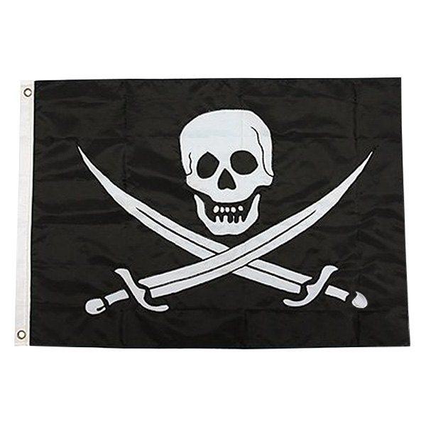 12 x 18 Taylor Made Products 3718 I Love Fishing Boat Flag